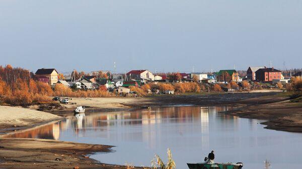 Берег реки Полуй