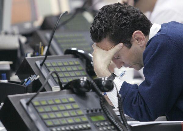 Трейдер на бирже