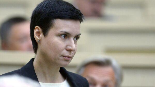 Сенатор Ирина Рукавишникова