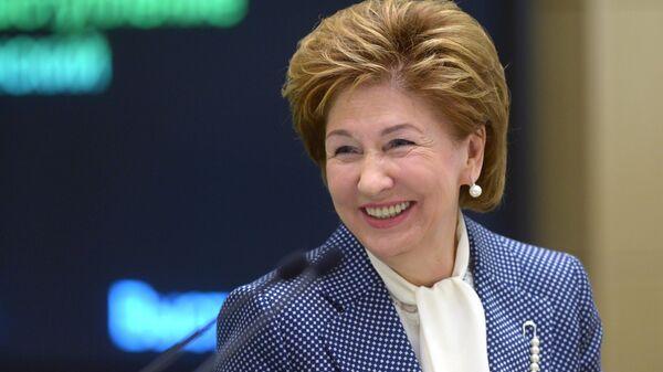 Вице-спикер Совета Федерации Галина Карелова