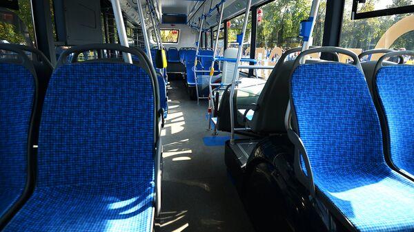 Салон электробуса. Архивное фото