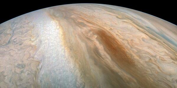 Фотография поверхности Южного экваториального пояса Юпитера