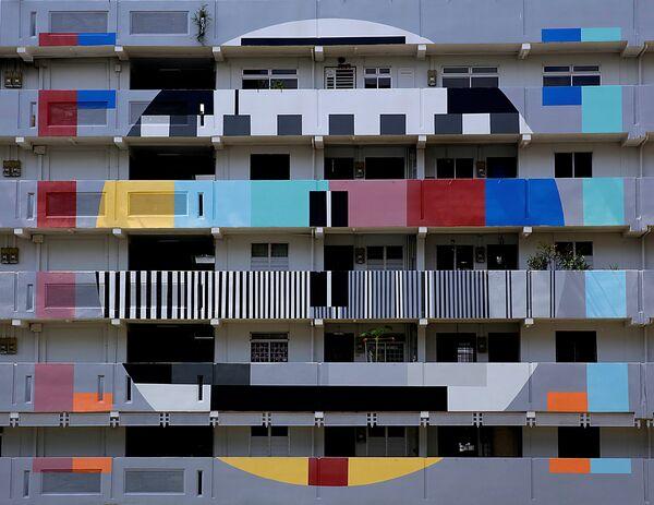 Жилой блок в Сингапуре