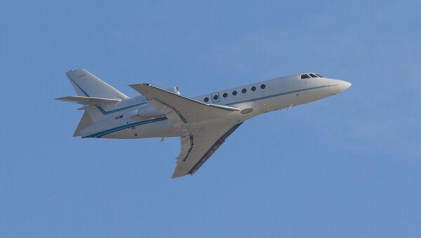 Самолет Dassault Falcon 50. Архивное фото