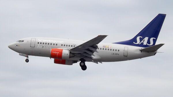 Самолет Boeing 737-600 авиакомпании SAS. Архивное фото