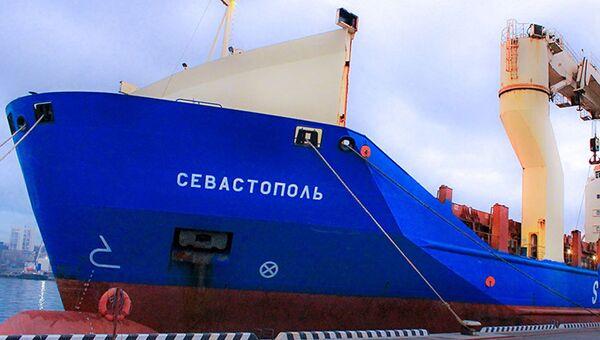 Многоцелевое грузовое судно Севастополь. Архивное фото