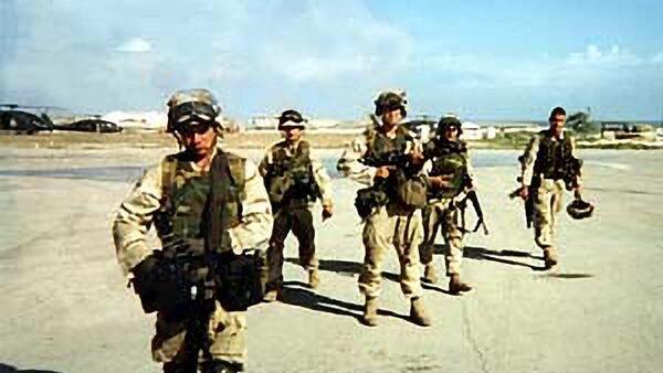 Рейнджеры в Сомали возвращаются после очередного задания