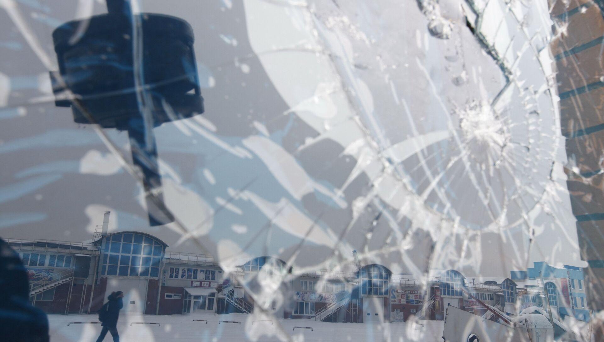 Ликвидация торговых рядов на бывшем Черкизовском рынке - РИА Новости, 1920, 03.10.2018