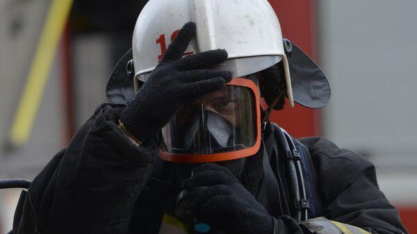 Сотрудник пожарной охраны
