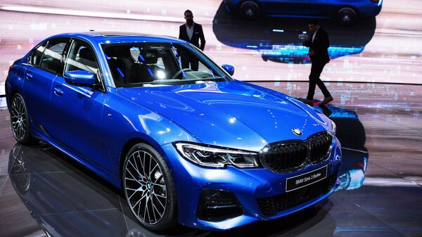 Презентация новой модели BMW Serie 3 Berline