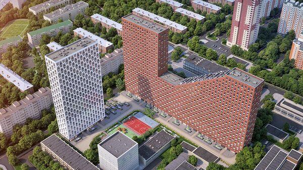 Проект группы компаний ЛСР Ленинграdка 58