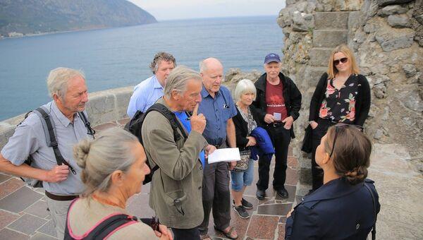 Делегация из Норвегии во время посещения Крыма. Архивное фото