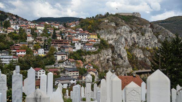 Вид на город Сараево