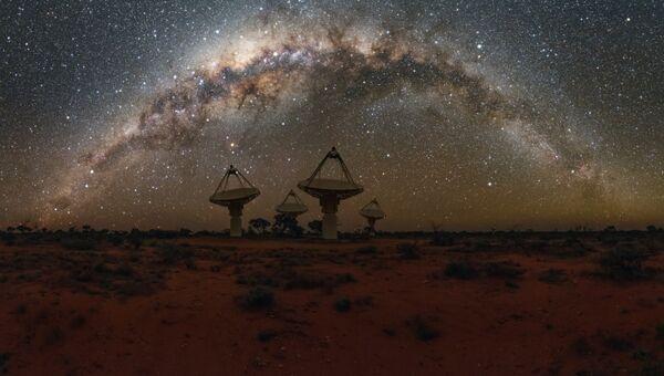 Радиотелескоп ASKAP в Австралии