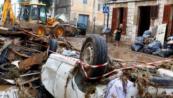 Последствия наводнения на Майорке