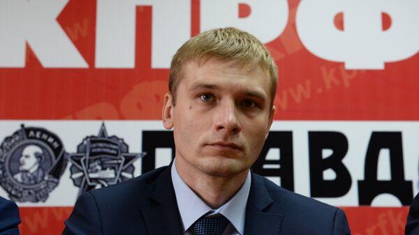 Кандидат на пост главы республики Хакасия Валентин Коновалов. Архивное фото