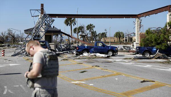 Ураган Майкл нанес серьезный ущерб базе ВВС США во Флориде
