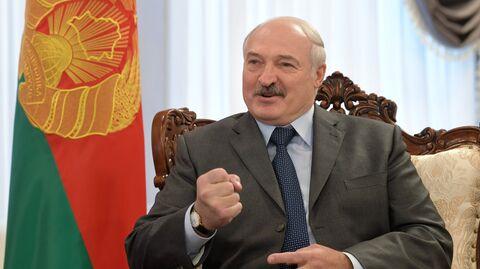 Президент Республики Беларусь Александр Лукашенко во время встречи с президентом РФ Владимиром Путиным в Могилеве. 12 октября 2018