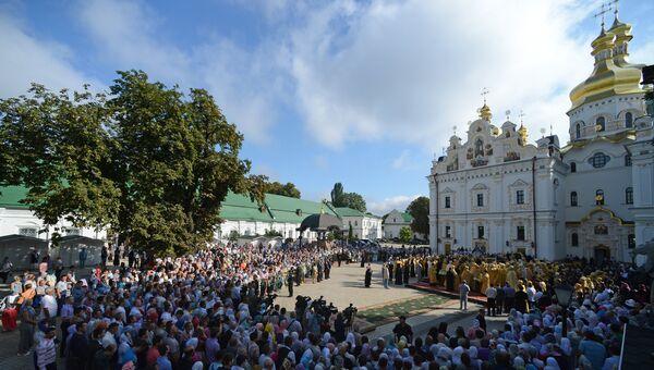 Верующие на Украине. Архивное фото