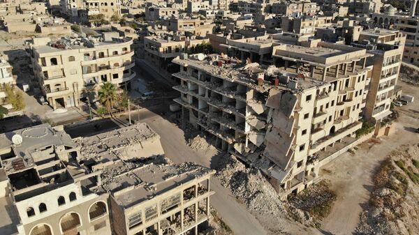 Панорама Идлиба, Сирия