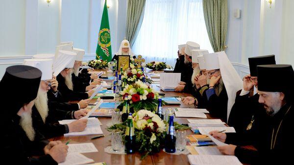 Заседание Синода Русской Православной Церкви. 15 октября 2018