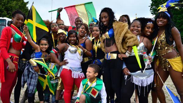 Участники Карибского карнавала с Ямайки. Архивное фото