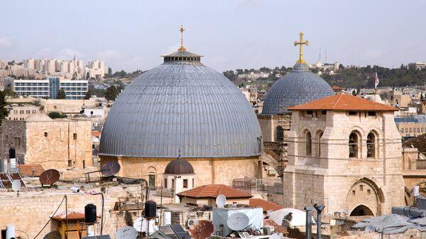 Храм Гроба Господня в Иерусалиме. Архивное фото.