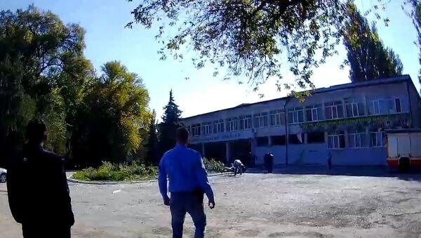 Керченский политехнический колледж, в котором произошел взрыв