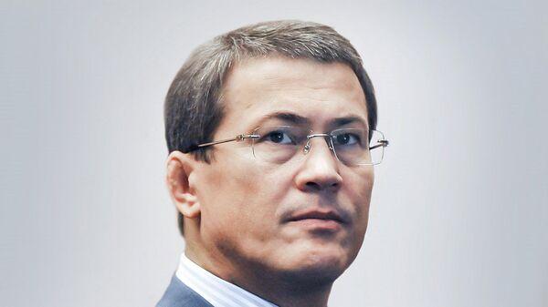 Временно исполняющий обязанности Главы Республики Башкортостан Радий Хабиров. Архивное фото