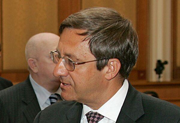 Заместитель мэра Москвы в правительстве Москвы Валерий Виноградов. Архив