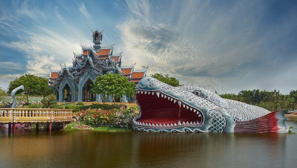 Парк Древний Сиам недалеко от провинции Самутпракан, Таиланд. Архивное фото.