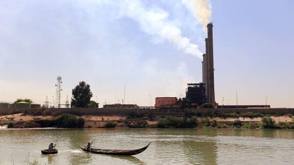Электростанция в Багдаде
