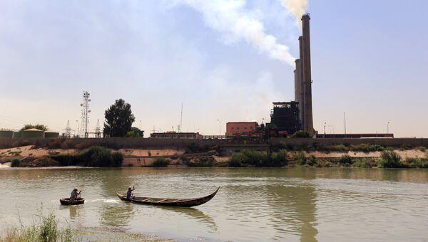 Электростанция в Багдаде. Архивное фото