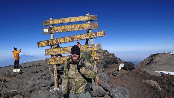 Вершина Килиманджаро. Февраль 2017