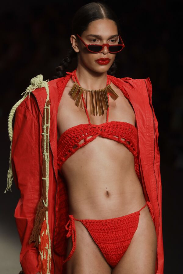 Показ коллекции Led на Неделе моды в Сан-Паулу