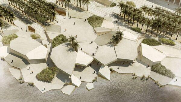 Проект культурного объекта Аль-Хосн, Абу-Даби, ОАЭ. Архивное фото