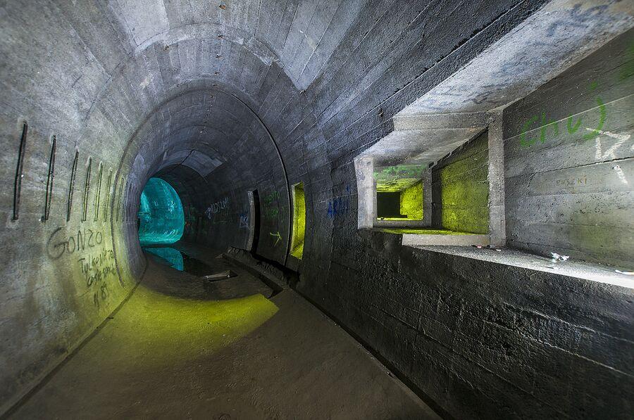 Польша. Бывшие немецкие подземные укрепления - Лагерь дождевого червя