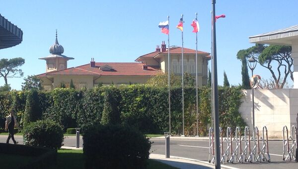 Рабочая резиденция Тайипа Эрдогана в Стамбуле
