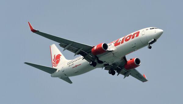 Самолет Boeing 737-800 авиакомпании Lion Air. Архивное фото