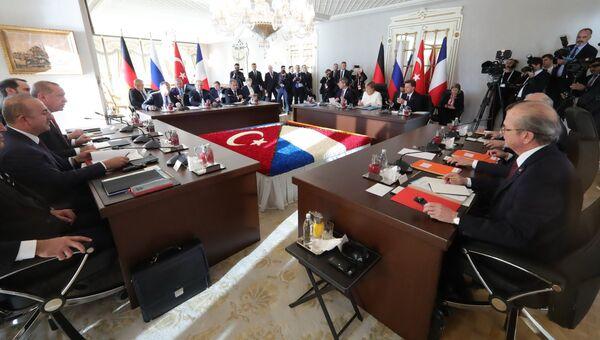 Четырёхсторонняя встреча по Сирии, Турция. 27 октября 2018