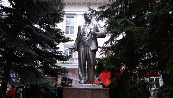 Памятник Ленину и 100 лет ВЛКСМ в Нижнем Новгороде. 29 октября 2018