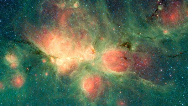 Туманность Кошачья лапа в созвездии Скорпион