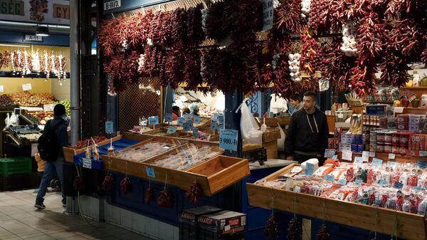 Центральный крытый рынок в Будапеште
