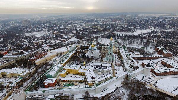 Город Сергиев Посад Московской области. Архивное фото