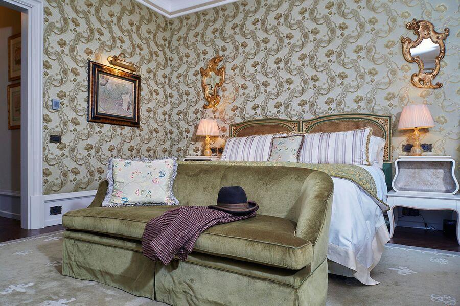Интерьер номера в отеле «Гритти Палас», Венеция