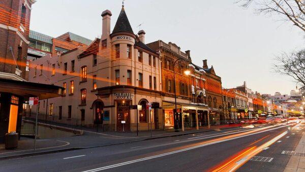 Russell Hotel в Сиднее, Австралия