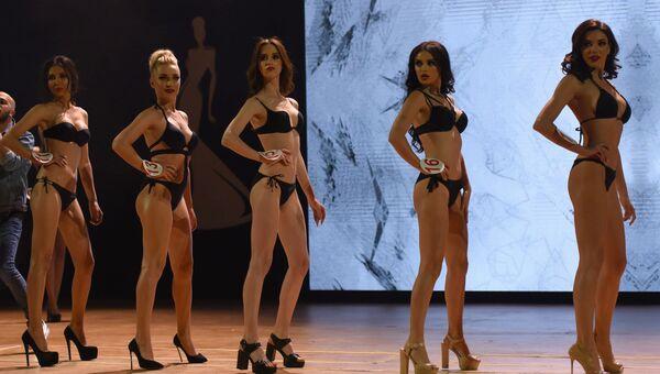 Участницы конкурса красоты Топ-модель СНГ-2018 в Ереване