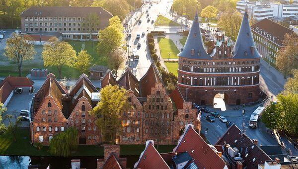 Любек, Германия. Архивное фото