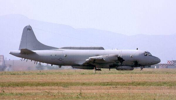 Американский самолет-разведчик EP-3E