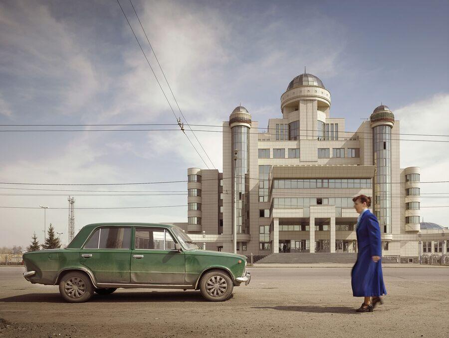 Работа немецкого фотографа Фрэнка Херфорта «Управление МВД в Казани»